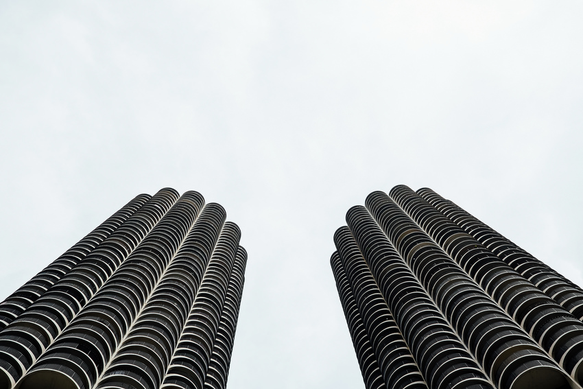 david mcclelland, Photographer, photography, Chicago, City, Architecture, Boat Tour, marina city, skyscrapers