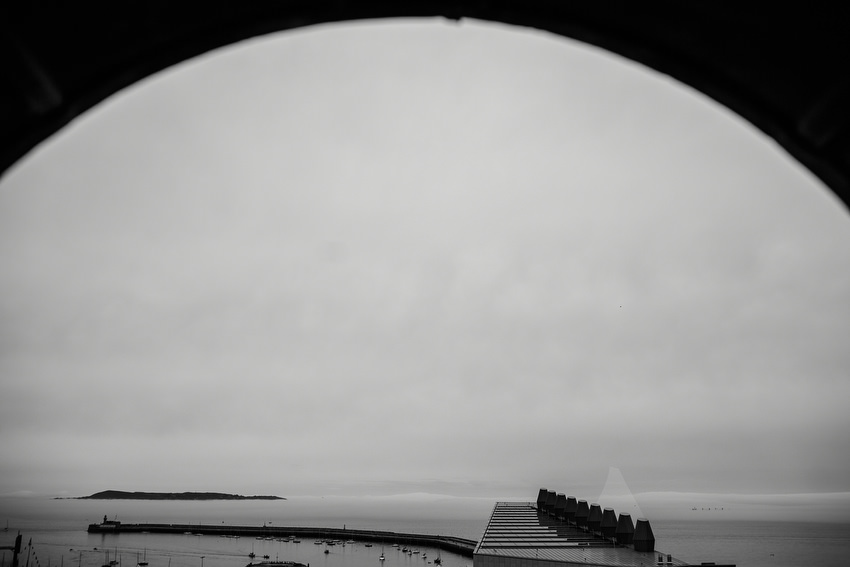 view from royal marine hotel in dun laoghaire