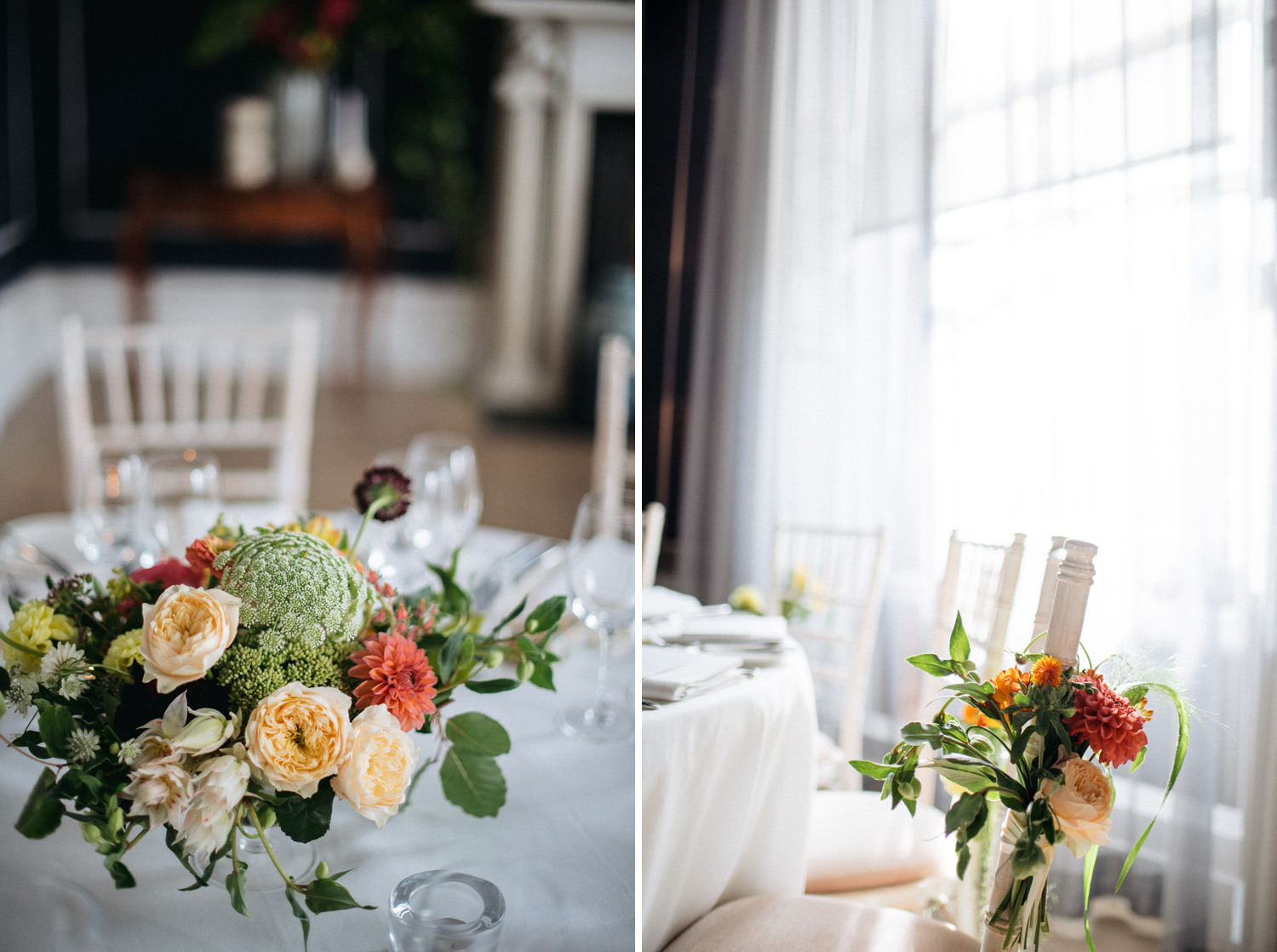 fitzwilliam place wedding details