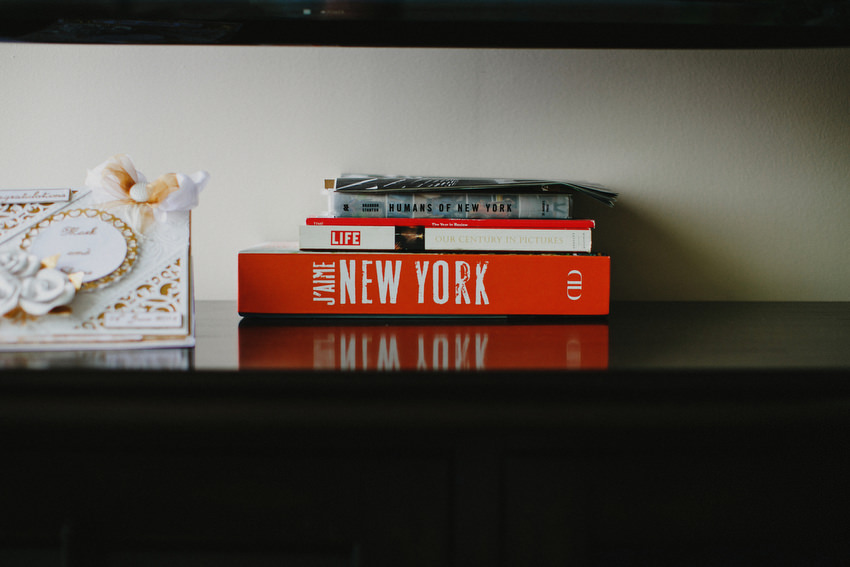 Humans of New York Book in Brides apartment