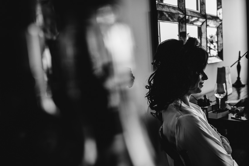 Candid photographer and Bridal preparations for wedding in NYC