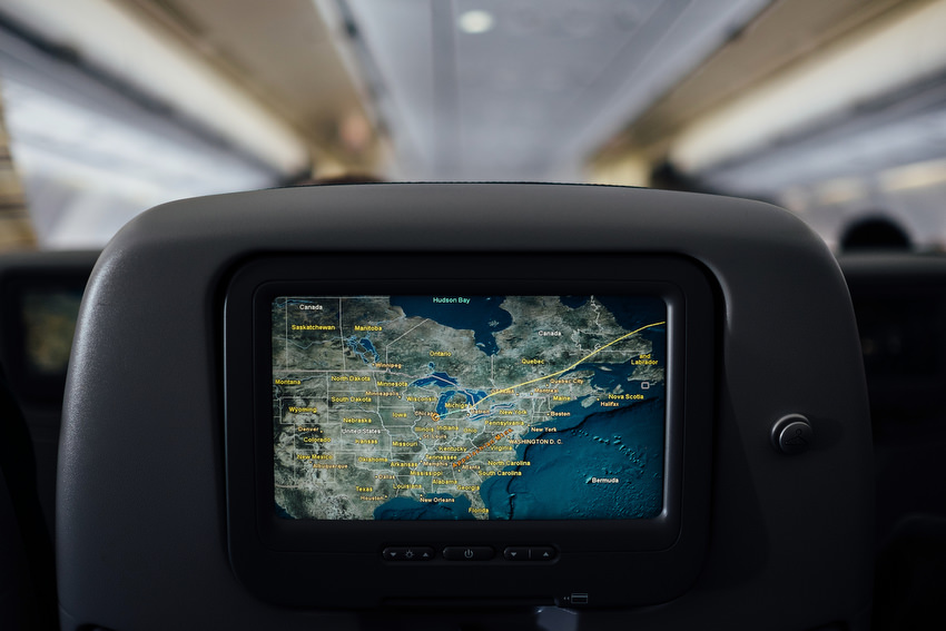 Chicago, david mcclelland, photography, plane, seat, screen, flying, map, flightpath
