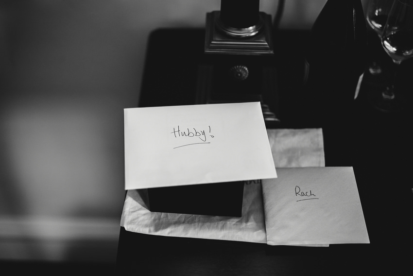 cards for groom saying the words hubby