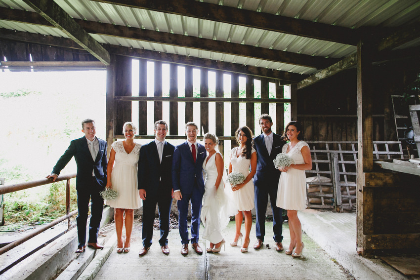 alternative wedding photography bridal party coughjordan david mcclelland