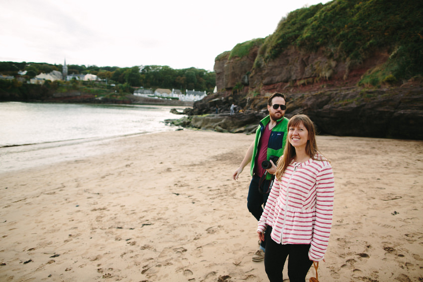 ashley and jeremy parsons at dunmore east