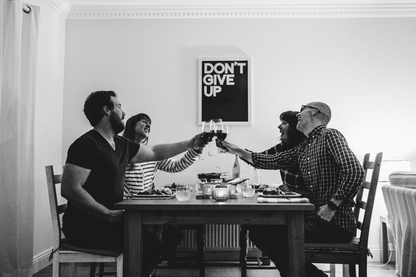don't give up table kilkenny with the parsons