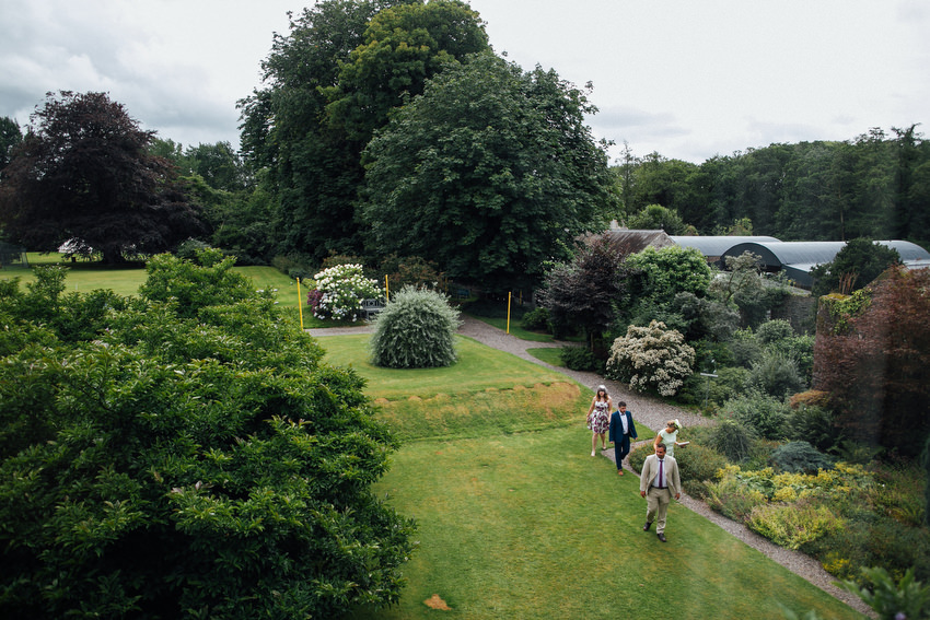 guests in the garden ballyvolane house