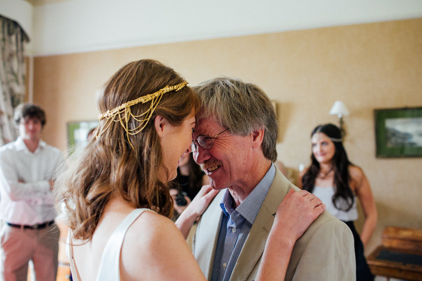 father of the bride sets his eyes on his daughter