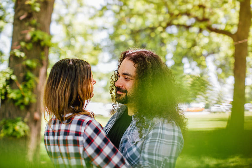 couple shoot in lincoln park chicago david mcclelland photography