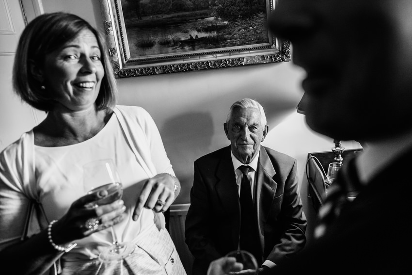 reportage style wedding photography coughjordan house